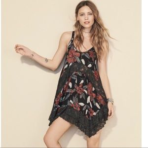 Free People Multicolor She Swings Dress Size Small